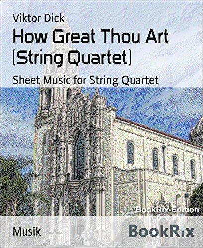 How Great Thou Art (String Quartet): Sheet Music for String Quartet