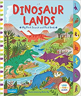 Find the Dinosaurs Book