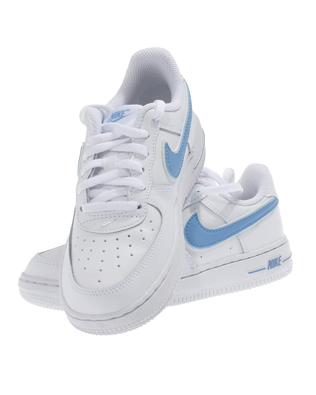 Nike Kinder Sneaker Schuhe Air Force 1 PS BQ2459 weiß