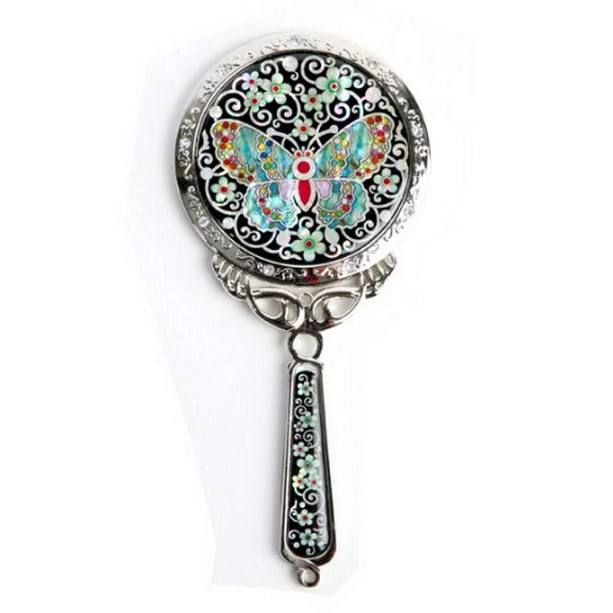 Antique Alive M121 Decorative Hand Mirror, 6.7 Ounce