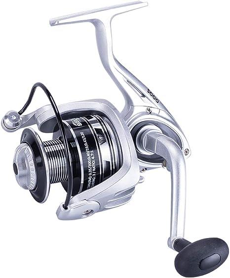 Sele Carrete Docks 50, 3 rodamientos para la Pesca de Spinning o ...