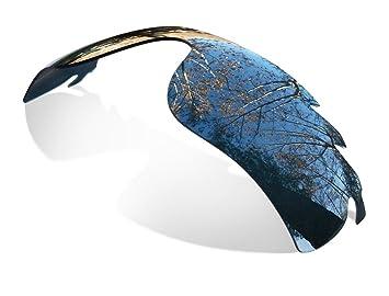 8f2f231fd4f SURe Polarized Black Iridium Replacement Lenses for Oakley Radarlock Vented