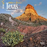 Texas, Wild & Scenic 2018 7 x 7 Inch Monthly Mini Wall Calendar, USA United States of America Southwest State Nature (Multilingual Edition)