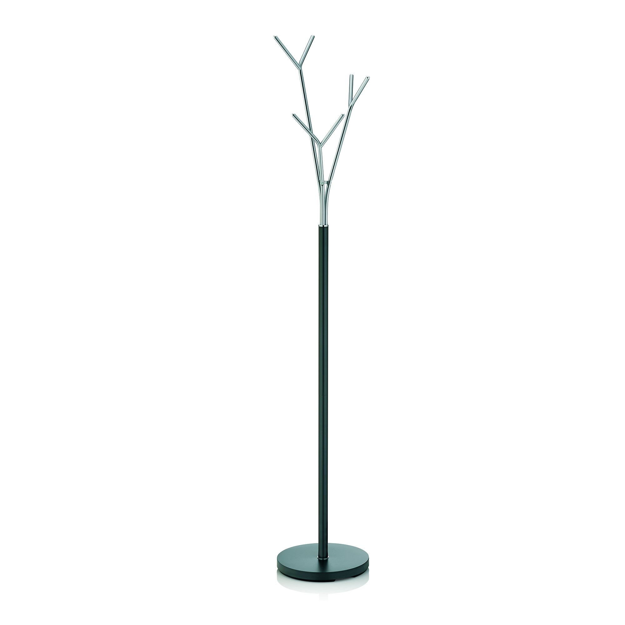 Kela Towel Holder Sinerio Collection, Tree Style, 68.3'' Tall, Metal Chrome