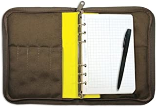 """product image for 1/2"""" Six Ring Field Round Binder, Yellow/Silver"""