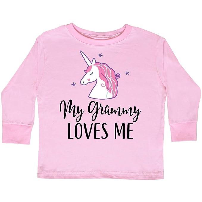 inktastic Unicorn Gift Idea Toddler Long Sleeve T-Shirt