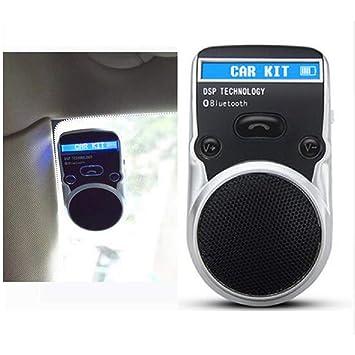 JIBO Sistema De Manos Libres Bluetooth Solar para Coche LCD Visor De Techo USB Teléfono Manos