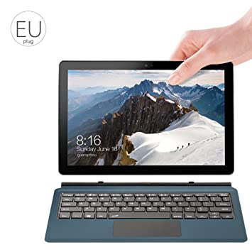fish 2 en 1 10.1 Pulgadas VOYO VBOOK I3 Tableta de Pantalla táctil Punto lápiz óptico portátil de Windows 10 Sistema Z8350 Quad Core 8 GB 128 GB Netbook: ...