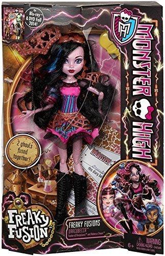 Monster High Freaky Fusion Dracubecca Doll (Monster High Dolls Horse)