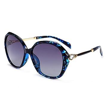 LQQAZY Estilo 2018 Gafas De Sol Mujeres Moda Retro Gafas Polarizadas Diamante Conducción Gafas De Sol