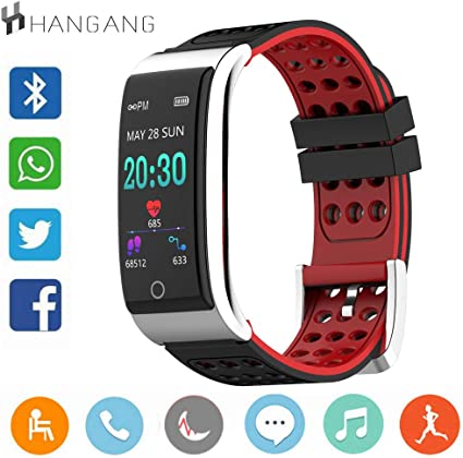 hangang Smartwatch Fitness Tracker, Tracker Actividades con ...