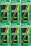 Dixon Ticonderoga Wood-Cased #2 Pencils, Case of 72, Black (13953)