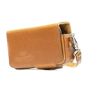 e6e04700b33c5 MegaGear Ledertasche mit Gürtelschlaufe für  Amazon.de  Elektronik