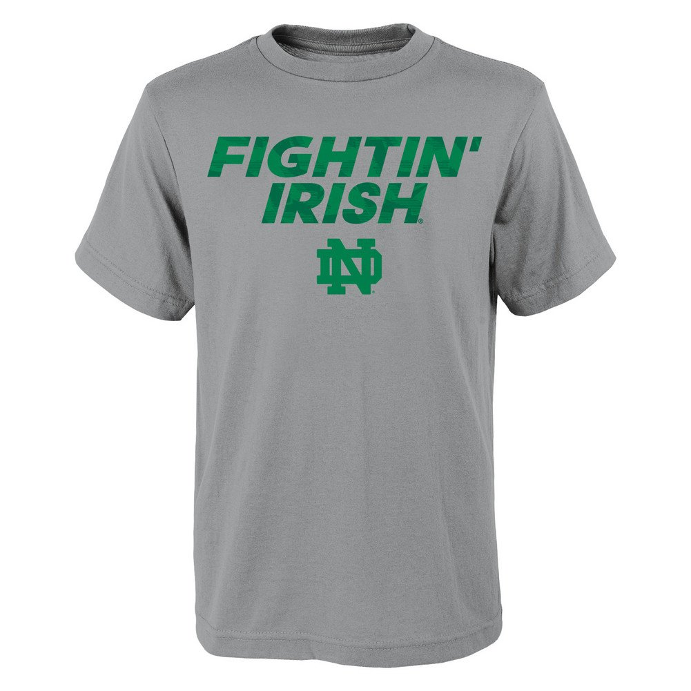 Shop Notre Dame Fighting Irish Tshirt H Gray Many Type