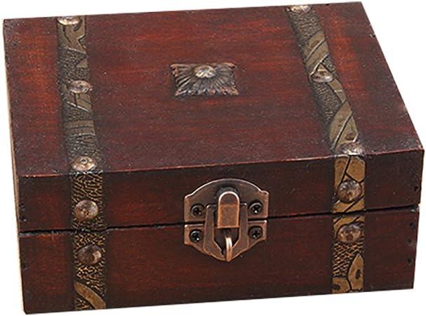 Dragonaur Vintage Jewelryt - Organizador de madera con caja de regalo: Amazon.es: Hogar