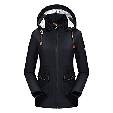 amazon com bosozoku women s windproof waterproof camping jacket