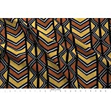 Spoonflower Mudcloth Fabric Mudcloth Inspired Diamonds and Chevrons by Eclectic House Printed on Satin Fabric by The Yard