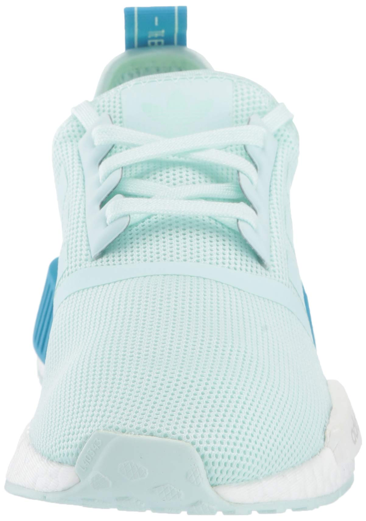 adidas Originals Unisex NMD_R1 Running Shoe, ice Mint/Shock Cyan, 3.5 M US Big Kid by adidas Originals (Image #4)