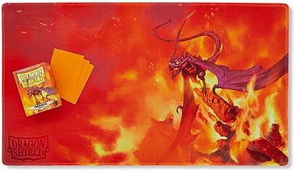 Orange Usaqin Dragon Shield Limited Edition Playmat