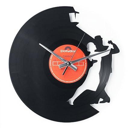 DiscOClock Reloj en Vinilo Tango