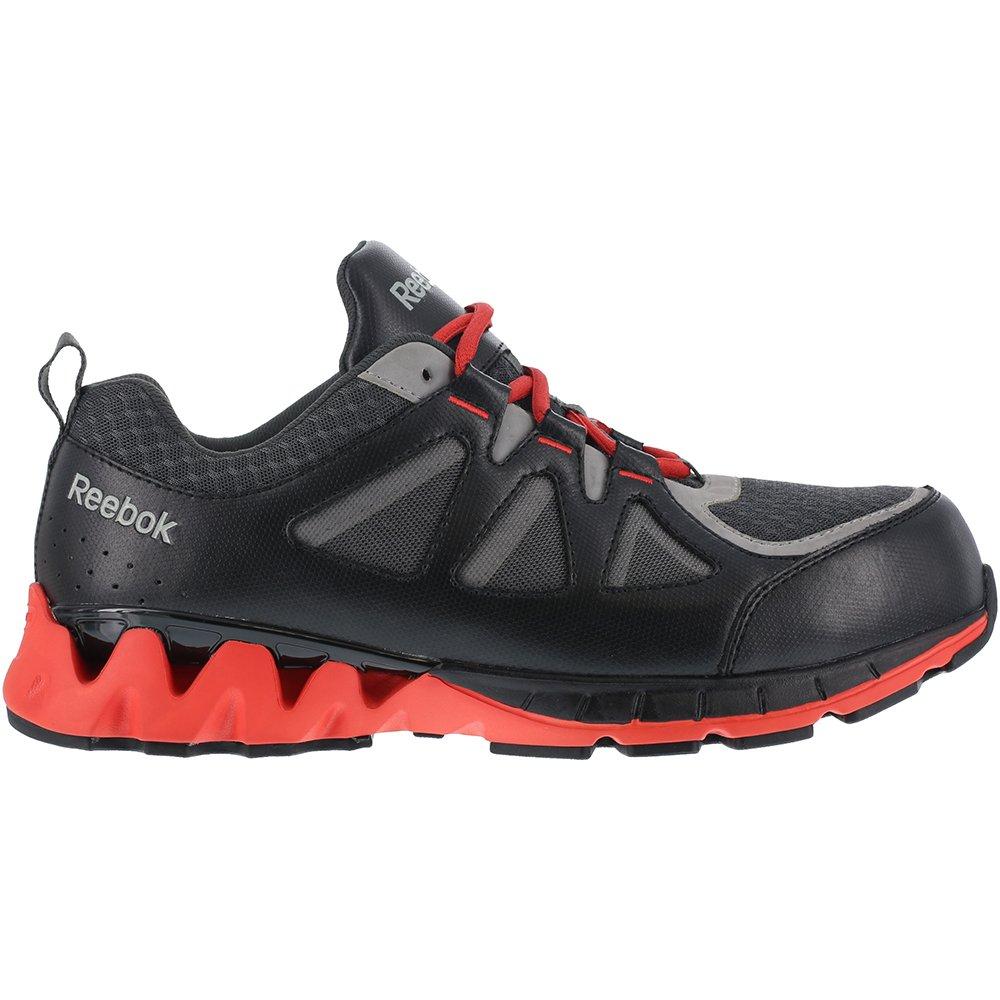Reebok Men s Leather and Mesh Athletic Oxfords Composite Toe Black 11 D   Amazon.co.uk  Shoes   Bags a2e5f5fb48c7c