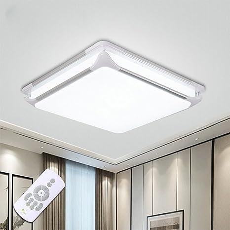 STARRYOL 36W Lámpara de Techo LED, Pantalla de aluminio Plafón LED, Moderno Lámpara De Techo Lámpara De Techo Pasillo Salón Cocina Dormitorio, El ...