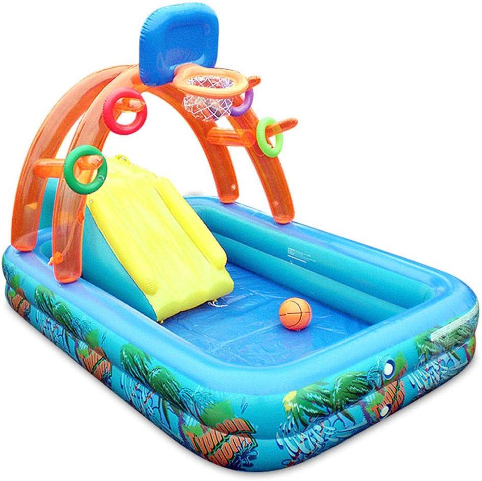 HEROTIGH Piscinas Hinchables Niños Inflables Toboganes Inflables Castillos De Juguete. Inflatable Pool
