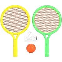 VGBEY Raquetas Badminton Raqueta Tenis para Niño, Juego
