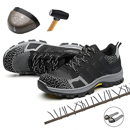 ad7faf4104f Amazon.com: Disnation New 2019 Indestructible Shoes For Men|Safety ...