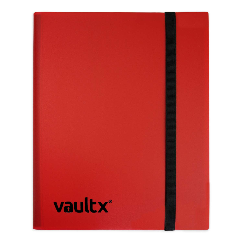 Vault X Binder - 9 Pocket Trading Card Album Folder - 360 Side Loading Pocket Binder for TCG (Black)