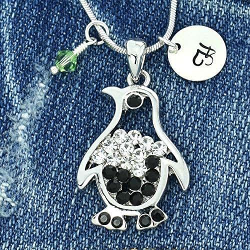 Sparkling Crystal Block Ring Chandelier: Amazon.com: Penguin Black Pendant Personalized Sparkling