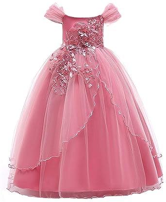 1714ea688a7cc 子供ドレス ロングドレス 女の子 ジュニア ピアノ 発表会 パーディー 演奏会 フォーマル 入園式 結婚