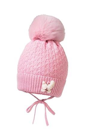 038546c6c2a Jamiks Baby Girls  Hat pink pink 13 UK  Amazon.co.uk  Clothing