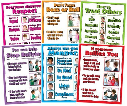 - Anti Bullying Posters Set of six 17