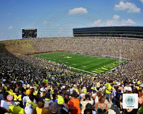 Michigan Stadium University of Michigan Wolverines 2011 Photo 8x10 #1 by NCAA