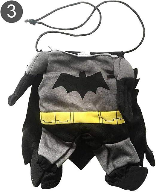 popchilli Ropa de Halloween para Perros Batman Cosplay Disfraz de ...