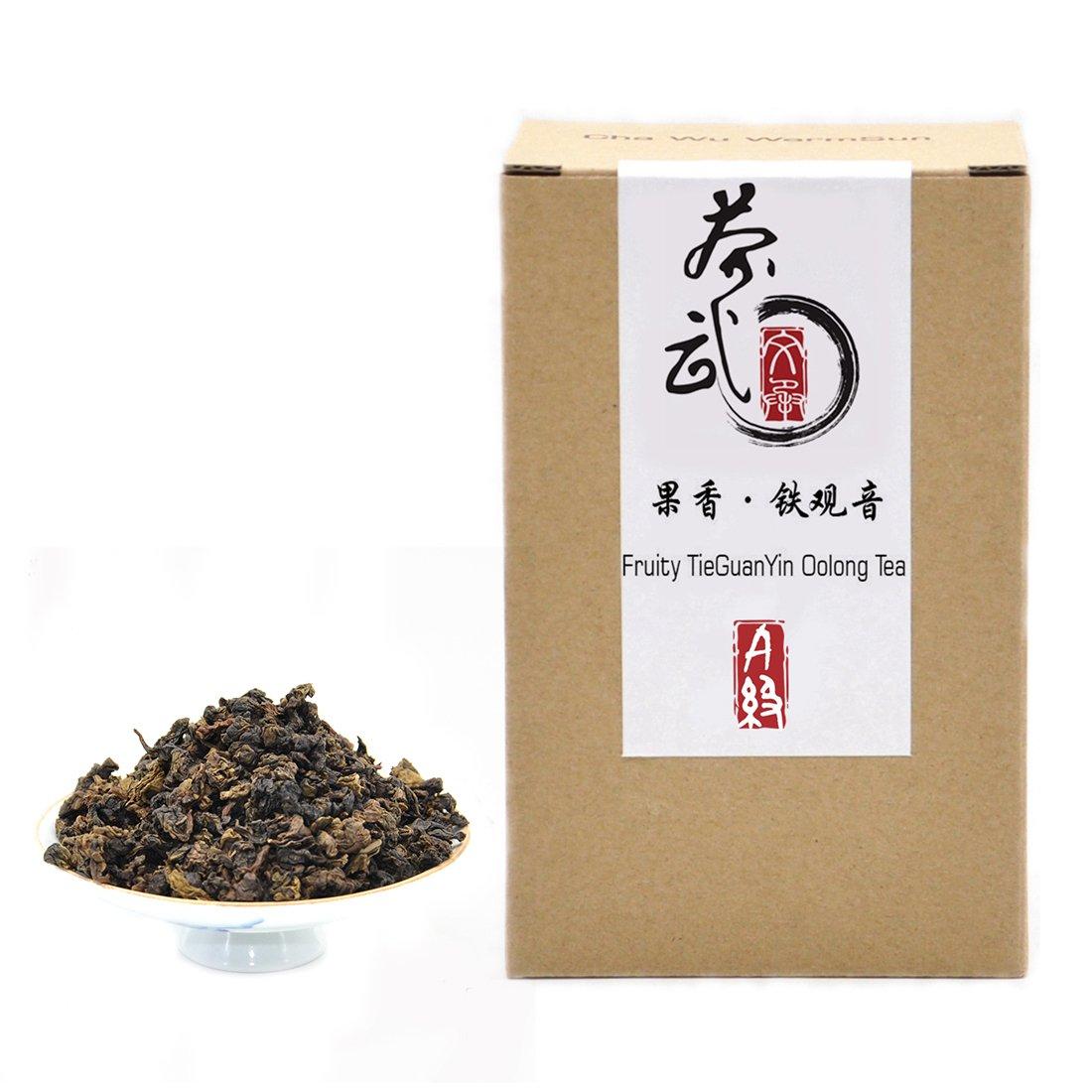 Cha Wu-[A] Fruity Tieguanyin Oolong Tea,8.8oz/250g,Light Roasting,AnXi Loose Leaf WuLong Tea,Chinese