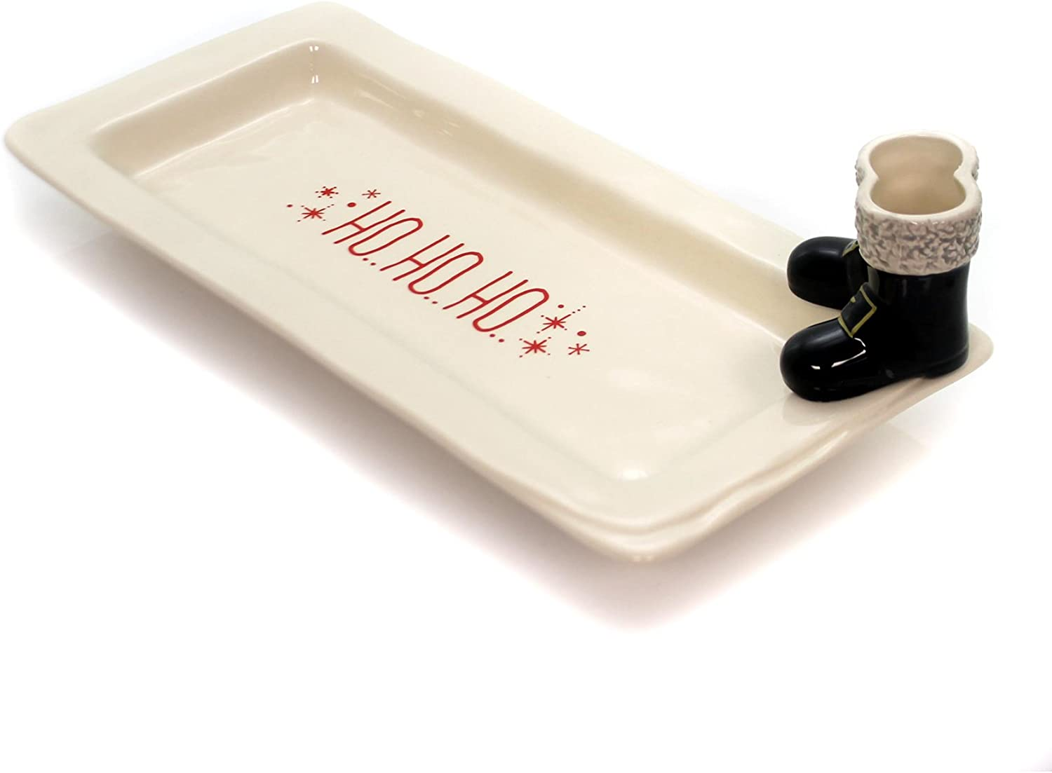 Details about  /Christmas platter tray red stripe or green dot 6x15 MSCRSRP//1612 /& MSCLDRP//1613
