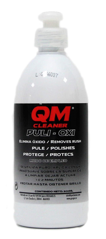 QMCLEANER PULIOXI Eliminador de Oxido y recuperdor de policarbonato