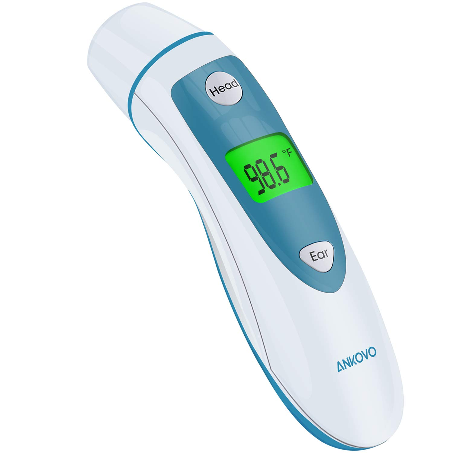 ANKOVO Thermometers Baby Forehead and Ear Thermometer for Adults Medical Digital Infrared Termometros