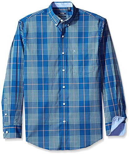 Advantage Shirt - IZOD Men's Advantage Performance Non Iron Stretch Long Sleeve Shirt