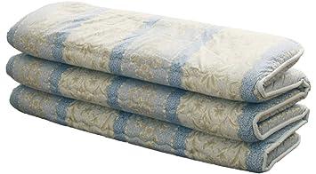 EMOOR Tradicional japonés colchón futón 6 Pliegues. Fabricado en Japón
