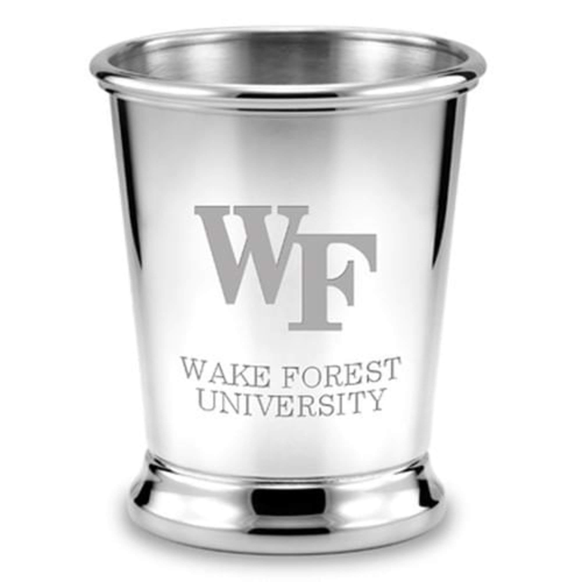 M. LA HART Wake Forest Pewter Julep Cup
