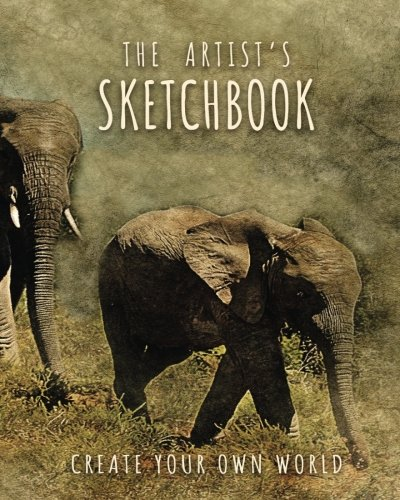 """Download The Artist's Sketchbook: 8""""X10"""" Blank Sketchbook (Sketch Book), Artist Journal, Blank Notebook, Drawing Pad  150 Large Blank Pages  Draw, Sketch, ... Fairy's Sketchbooks Collection) (Volume 17) pdf"""