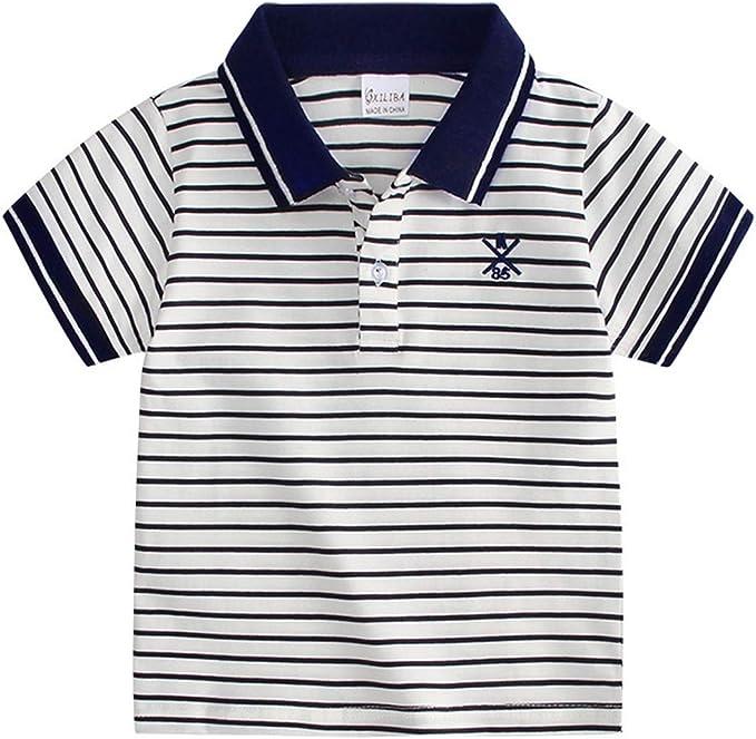 Camiseta para Niños Camiseta Polo Camiseta De Manga Corta Camiseta ...