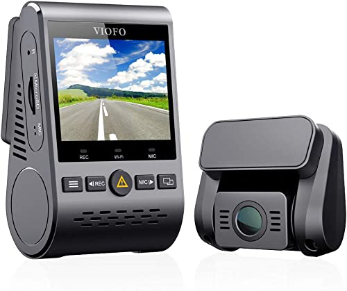 Viofo A129 GPS Dual Lens Dash Cam Full HD 1080P 140 Wide Angle Dashboard Camera w GPS, Low Light Vision G-Sensor