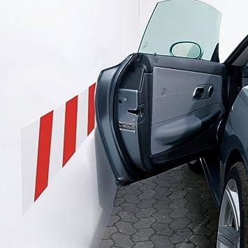 Parachoques Adhesivo sobre muro aparcamiento. Banda autoadhesivo protección carrocería de espuma 20 x 100 cm): Amazon.es: Hogar