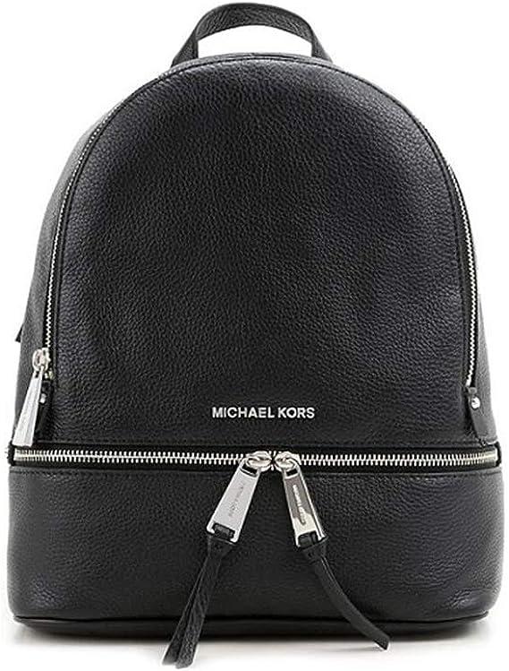 Michael Kors Rhea Sac à dos en cuir pour femme Taille M