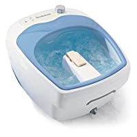 Brookstone Heated Aqua-Jet Foot Spa