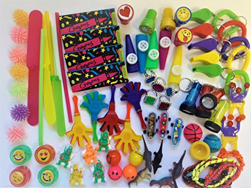 Bulk Toys Party Favors Toy Assortment Kids Jumbo 120 Piece Favor Small Toy Assortments Birthday Party Bags Fillers Pinata Prize Carnival Claw Game School Dentist Doctor Rewards Stocking Stuffer by TSF TOYS (Image #1)